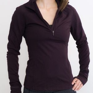 Lululemon Purple Half Zip